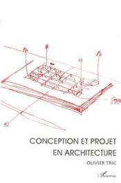 Conception et projet en architecture - Couverture - Format classique