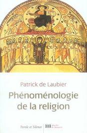 Phénomènologie de la vie religieuse - Intérieur - Format classique