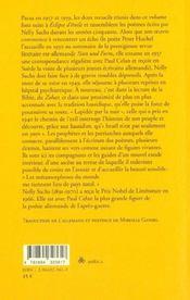 Exode et métamorphose - 4ème de couverture - Format classique