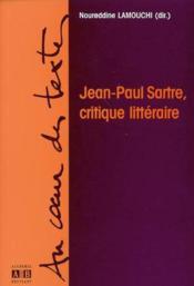Jean Paul Sartre Critique Litteraire - Couverture - Format classique
