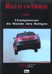 Mille et un virages 2003 - Intérieur - Format classique