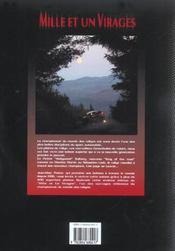 Mille et un virages 2003 - 4ème de couverture - Format classique