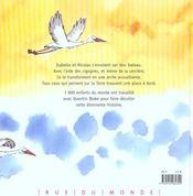 Un bateau dans le ciel - 4ème de couverture - Format classique