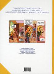 Tiblonde t.1 - 4ème de couverture - Format classique