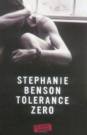 Tolerance Zero - Couverture - Format classique