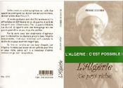L'Algerie (Ce Pays Riche) - Couverture - Format classique