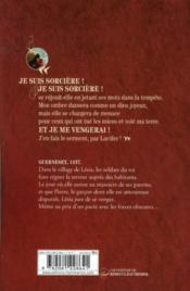 La septième fille du diable t.1 ; la prophétie - 4ème de couverture - Format classique