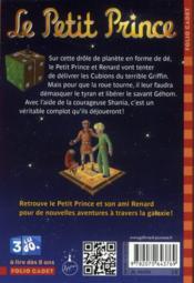Le petit prince t.7 ; la planète de Gehom - 4ème de couverture - Format classique