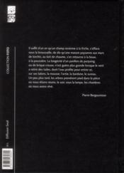 Friches - 4ème de couverture - Format classique