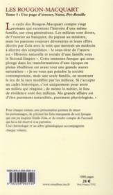 Les Rougon-Macquart t.3 - 4ème de couverture - Format classique