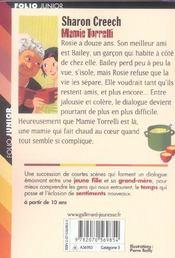 Mamie torrelli - 4ème de couverture - Format classique