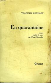 En Quarantaine. - Couverture - Format classique