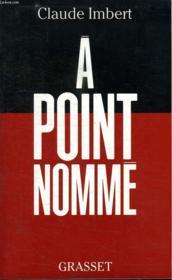 A Point Nomme. - Couverture - Format classique