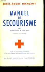 Manuel De Secourisme. - Couverture - Format classique