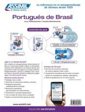 Portugués de Brasil - 4ème de couverture - Format classique
