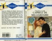 Caprice De Milliardaire - Heart On Fire - Couverture - Format classique