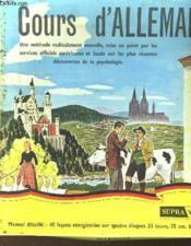 Cours D'Allemand 4 33 Tours - Couverture - Format classique