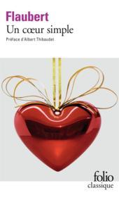 Un coeur simple - Couverture - Format classique