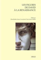 Les Figures de David à la Renaissance - Couverture - Format classique