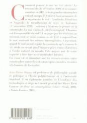 Petite Metaphysique Des Tsunamis - Couverture - Format classique