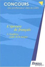 Francais - Crpe - Couverture - Format classique
