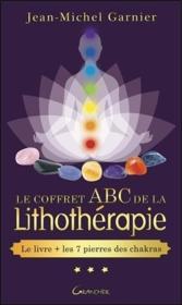 La boîte de lithothérapie ABC; le livre + 7 pierres de chakra - Couverture - Format classique