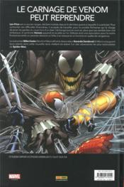 Venom T.1 ; un nouvel hôte - 4ème de couverture - Format classique