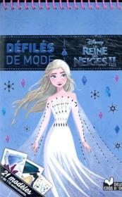 La Reine des Neiges 2 ; défilés de mode - Couverture - Format classique