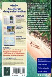 République Dominicaine (3e édition) - 4ème de couverture - Format classique