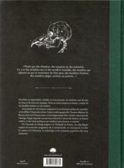 Atlas des monstres connus & méconnus - 4ème de couverture - Format classique