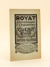 Royat (Auvergne), Rapport à l'Académie de Médecine. - Couverture - Format classique