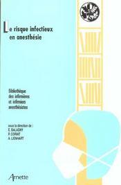 Jepu 2003 Le Risque Infectieux En Anesthesie - Intérieur - Format classique