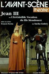 Jean iii ou l'irresistible ascension - Couverture - Format classique