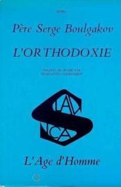 Orthodoxie (L') - Couverture - Format classique