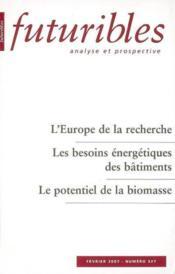 L'europe de la recherche - Couverture - Format classique