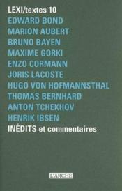 Lexi/ textes 10 - Couverture - Format classique