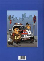 Les policiers t.1 ; amende amère - 4ème de couverture - Format classique