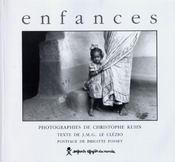 Enfances - Couverture - Format classique
