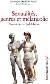 Sexualités, genres et mélancolie ; s'entretenir avec Judith Butler - Couverture - Format classique