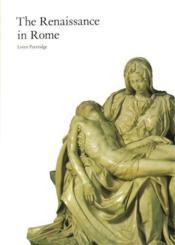 The Renaissance In Rome /Anglais - Couverture - Format classique