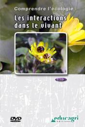 Les interactions dans le vivant (dvd) - Couverture - Format classique