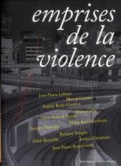 Emprises de la violence - Couverture - Format classique