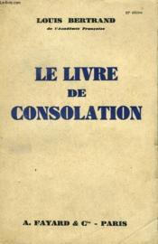 Le Livre De Consolation. - Couverture - Format classique