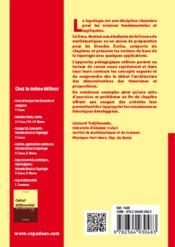 Topologie élémentaire pour la licence de mathématiques (2e édition) - 4ème de couverture - Format classique