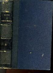 Oeuvres De Sainte Terese - Tome 3 - Couverture - Format classique