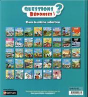 QUESTIONS REPONSES 5+ ; les trains - 4ème de couverture - Format classique