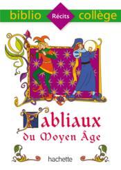 Fabliaux du Moyen Âge - Couverture - Format classique