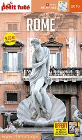GUIDE PETIT FUTE ; CITY GUIDE ; Rome (édition 2016) - Couverture - Format classique