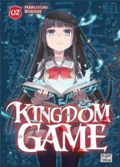 Kingdom game t.2 - Couverture - Format classique
