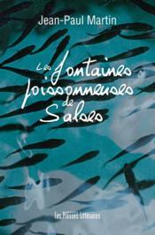 Les fontaines poissonneuses de Salses - Couverture - Format classique